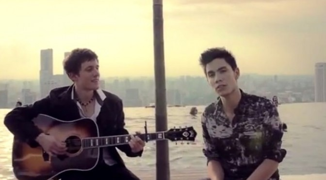WTFSG-2013-pop-medley-sam-tsui-kurt-schneider-in-singapore