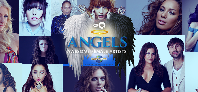 9XO Angels FB Cover